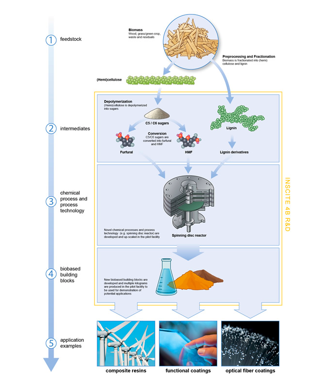 graphic about biobased proces